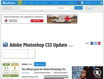 adobe-photoshop-cs3-update.en.softonic.com screenshot