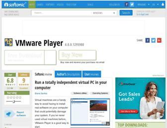 vmware-player.en.softonic.com screenshot