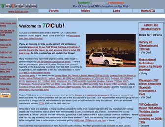 Thumbshot of Tdiclub.com