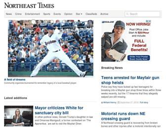 northeasttimes.com screenshot