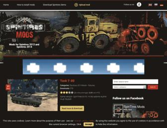 spintires-mods.eu screenshot