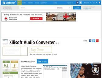 xilisoft-audio-converter.en.softonic.com screenshot