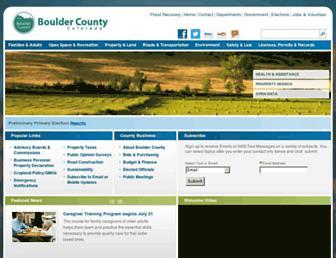 bouldercounty.org screenshot