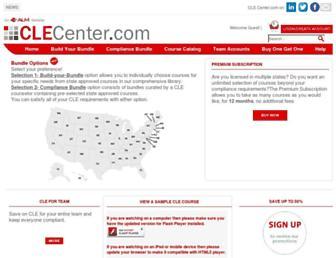 Thumbshot of Clecenter.com