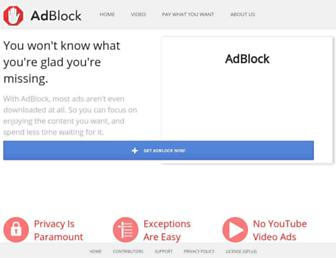 Thumbshot of Getadblock.com