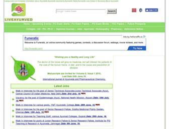 liveayurved.com screenshot