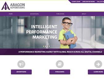 Thumbshot of Aragon-advertising.com
