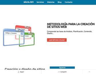 disenowebakus.net screenshot