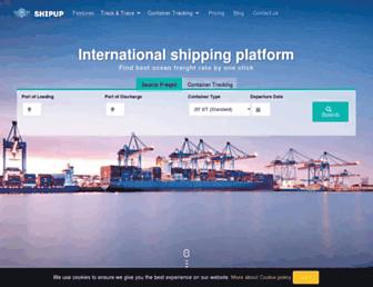 shipup.net screenshot