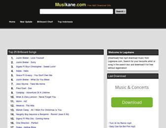 musikane.com screenshot