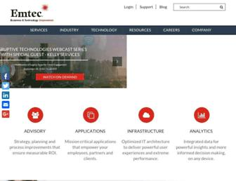 emtecinc.com screenshot