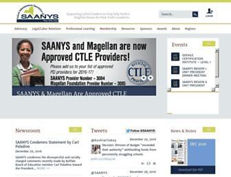 saanys.org screenshot