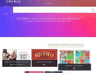 vexels.com screenshot