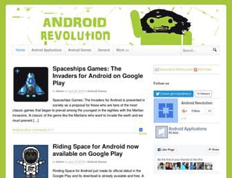 androidrevolution.com screenshot