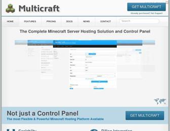 multicraft.org screenshot