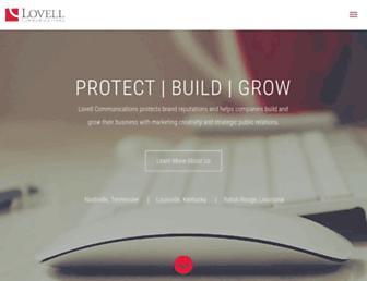 lovell.com screenshot