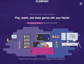 parsecgaming.com screenshot