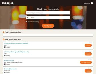m.snagajob.com screenshot