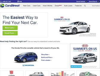 Thumbshot of Carsdirect.com