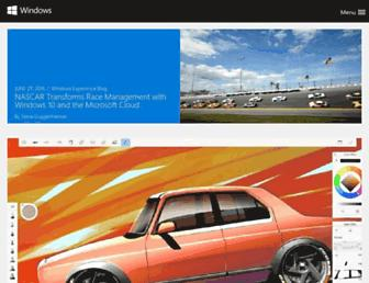 blogs.windows.com screenshot