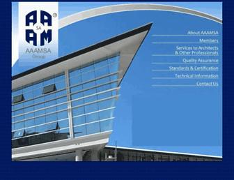 aaamsa.co.za screenshot