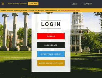 courses.missouri.edu screenshot