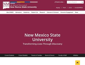 Thumbshot of Nmsu.edu