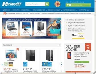 harlander.com screenshot