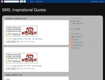 myquotesnsms.blogspot.com screenshot