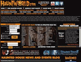 Thumbshot of Hauntworld.com