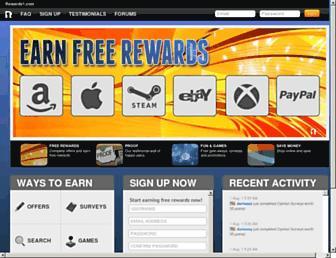 rewards1.com screenshot