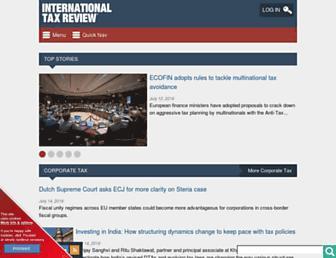 internationaltaxreview.com screenshot