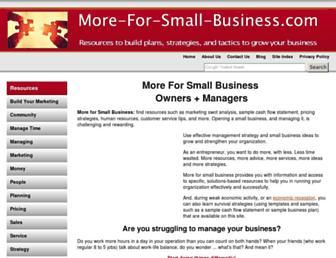 more-for-small-business.com screenshot