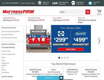Thumbshot of Mattressfirm.com