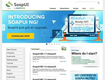 Thumbshot of Soapui.org