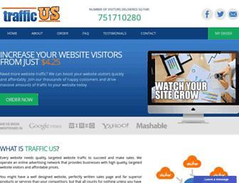 Thumbshot of Trafficus.co.uk