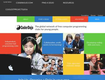 coderdojo.com screenshot