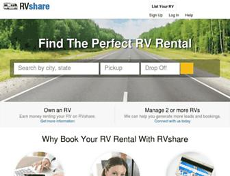 rvshare.com screenshot