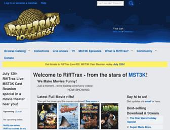 Thumbshot of Rifftrax.com