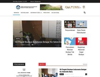kebudayaan.kemdikbud.go.id screenshot