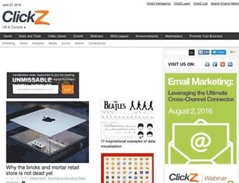 clickz.com screenshot