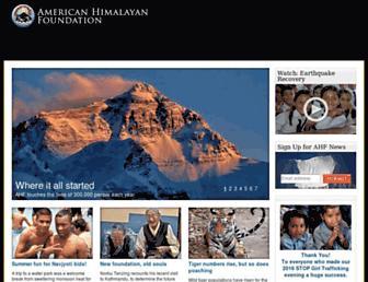 himalayan-foundation.org screenshot