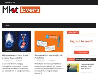 marketinglovers.net screenshot