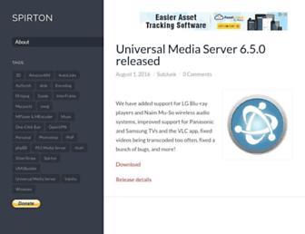 spirton.com screenshot