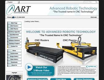 advancedrobotic.com screenshot