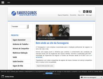 Thumbshot of Faroseguros.pt