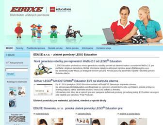 eduxe.sk screenshot