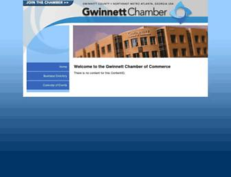 web.gwinnettchamber.org screenshot
