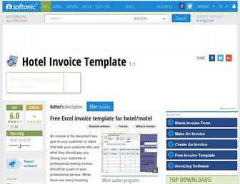 hotel-invoice-template.en.softonic.com screenshot