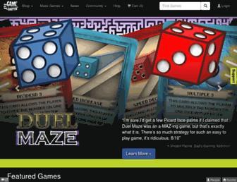 thegamecrafter.com screenshot